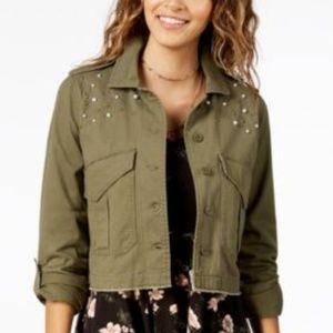 American Rag Utility Jacket Cotton Embellished